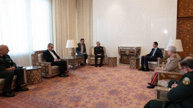 الأسد خلال لقاء باقري: الاتفاقية العسكرية تجسد مستوى العلاقات الاستراتيجية