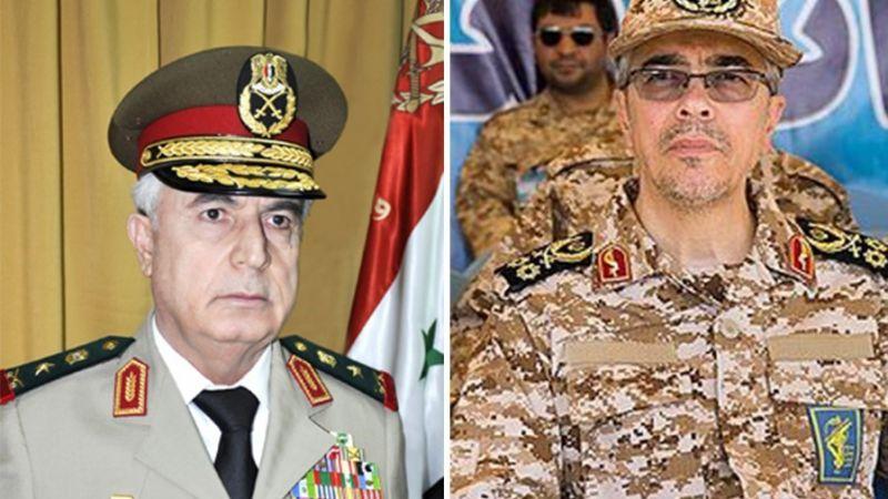 اتفاق للتعاون العسكري والامني بين سوريا وايران