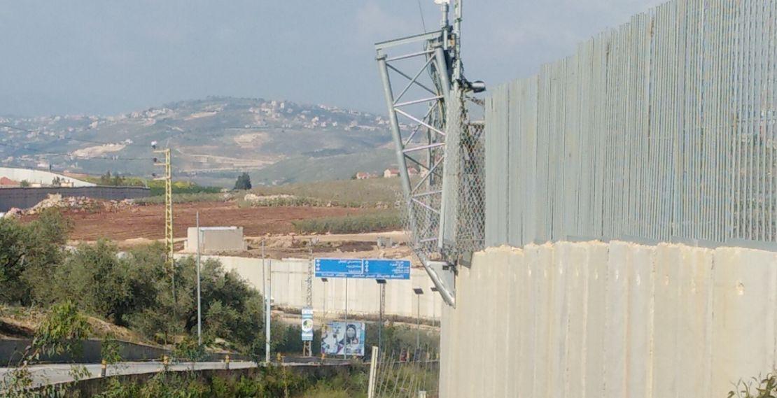الحدود مع فلسطين المحتلة